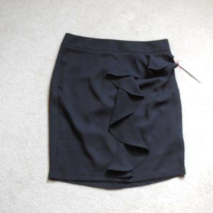 Elle Tropic Fresh Pencil Straight Ruffled Skirt 10